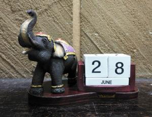 ช้างไทยปฏิทินตั้งโต๊ะ