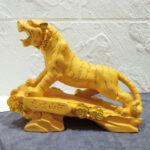 รูปปั้นเสือโคร่ง ของแต่งบ้านเสริมฮวงจุ้ย